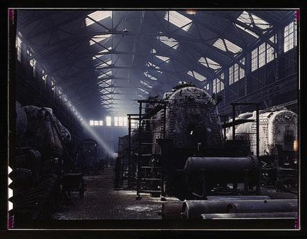 SantaFeRRLocomotiveShopsTopeka1943