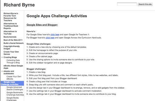 GoogleAppsChallenge