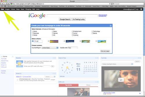 SettingiGooglePage1