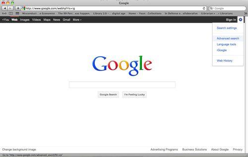 GoogleAdvancedSearch