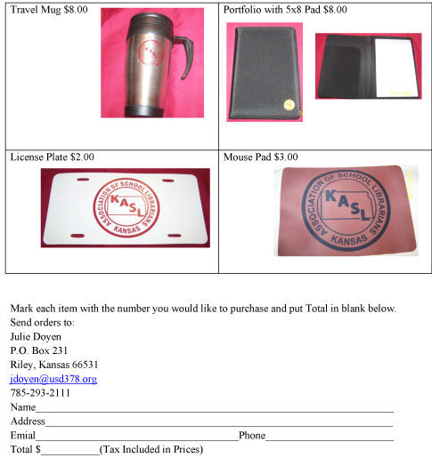 KASLMerchandise20122