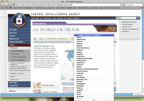 WorldFactBook