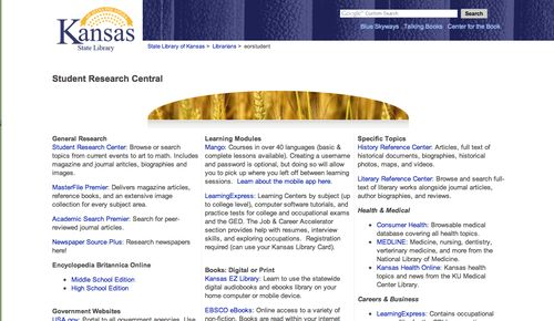 StudentResearchCentral