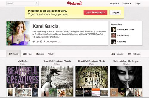 AuthorPinterest
