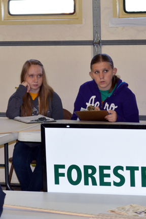 3Forestry Pres. Kristina Laizure&Nadine Armstrong