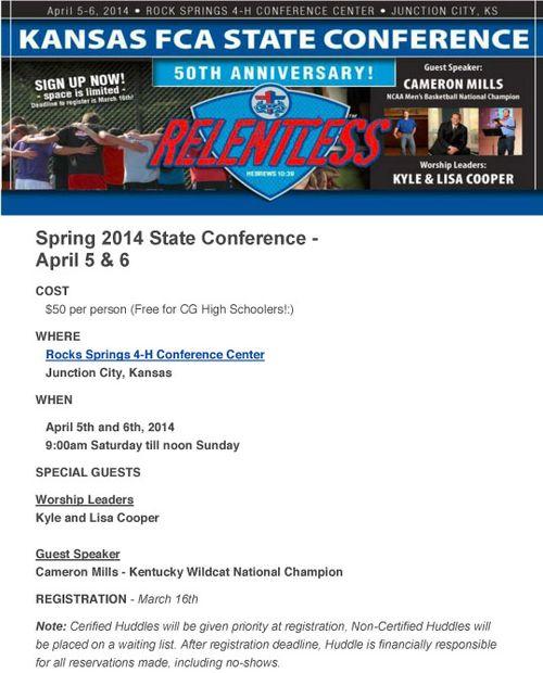 FCASpring2014StateConference