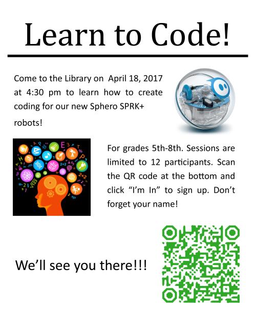 Sphero Coding Workshop