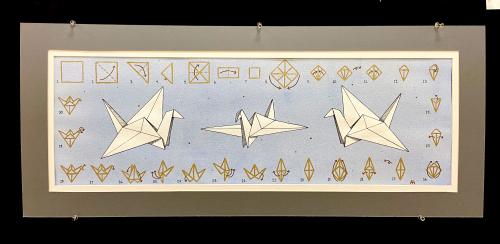 Hodges Paper Cranes