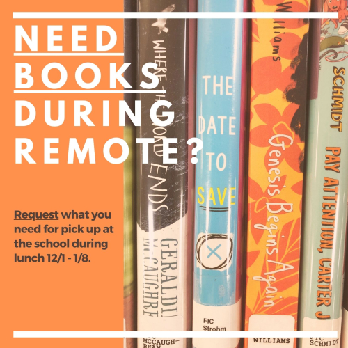 Need Books During Remote_